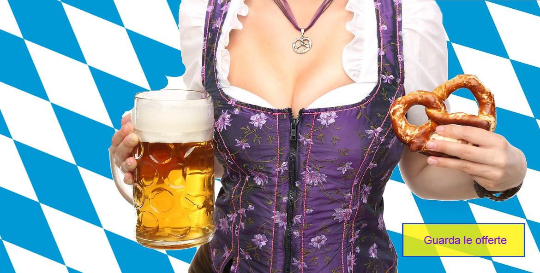 la foto mostra un vestito da Oktoberfest